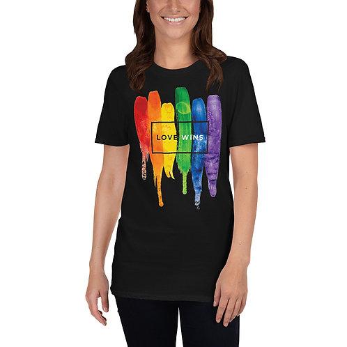 Love Wins Shirt - Short-Sleeve Unisex T-Shirt