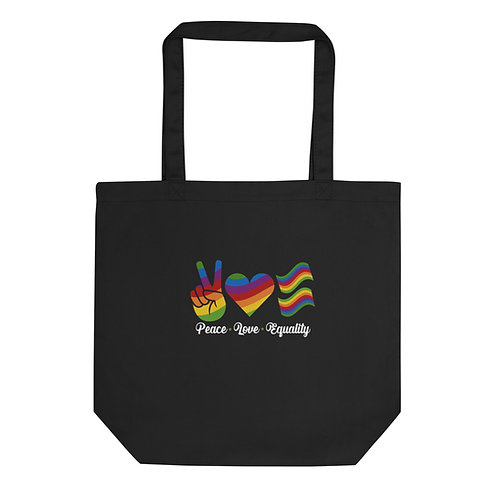 Peace Love Equality Eco Tote Bag