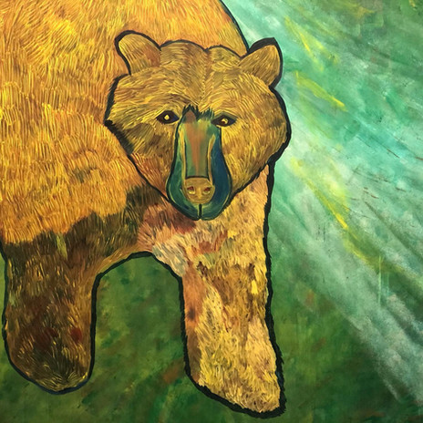 Big Bear (detail)