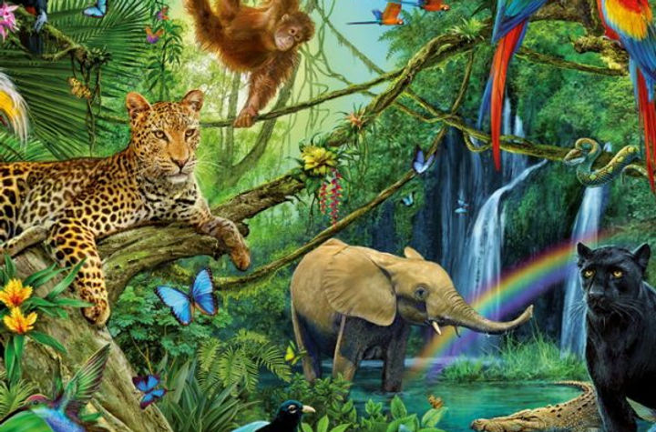 Animal-in-the-jungle-200-PC-Jigsaw-Puzzl