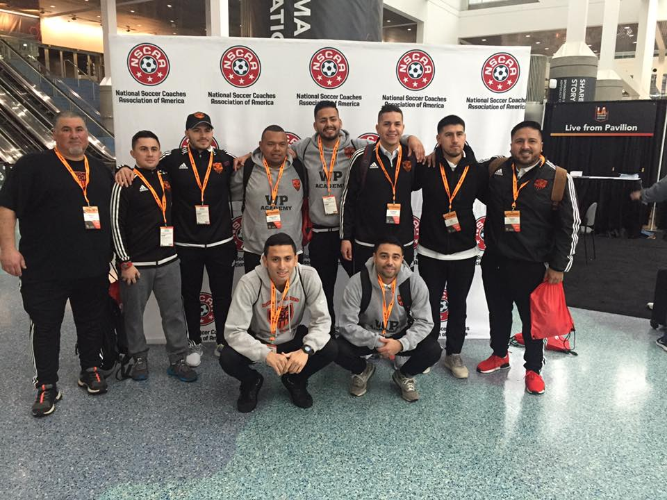 NSCAA CONVENTION L.A.