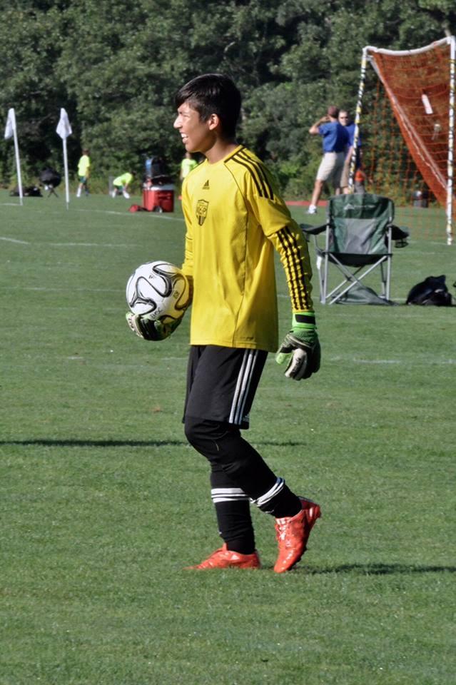 Academy 02 Goalkeeper Thomas Pisapia