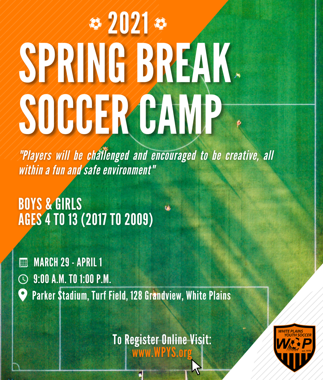 2021 SPRING BREAK CAMP