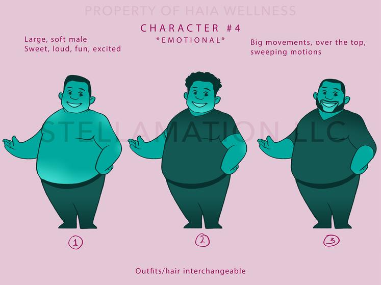 Amor Character Design