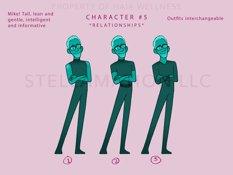 Mike Character Design