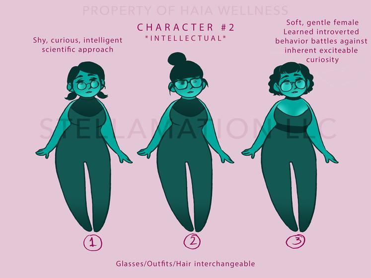 Minerva Character Design