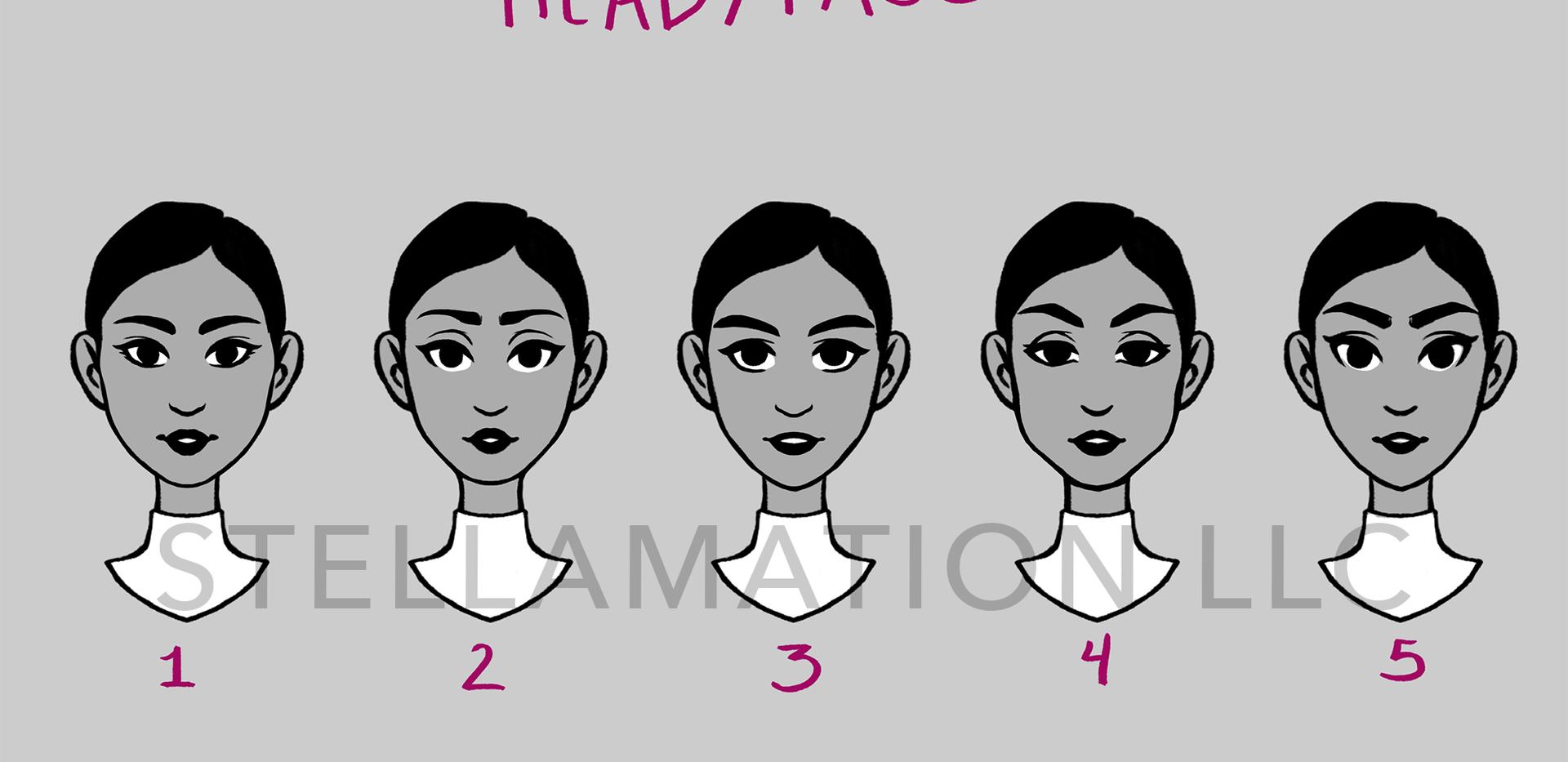 Head Design First Pass
