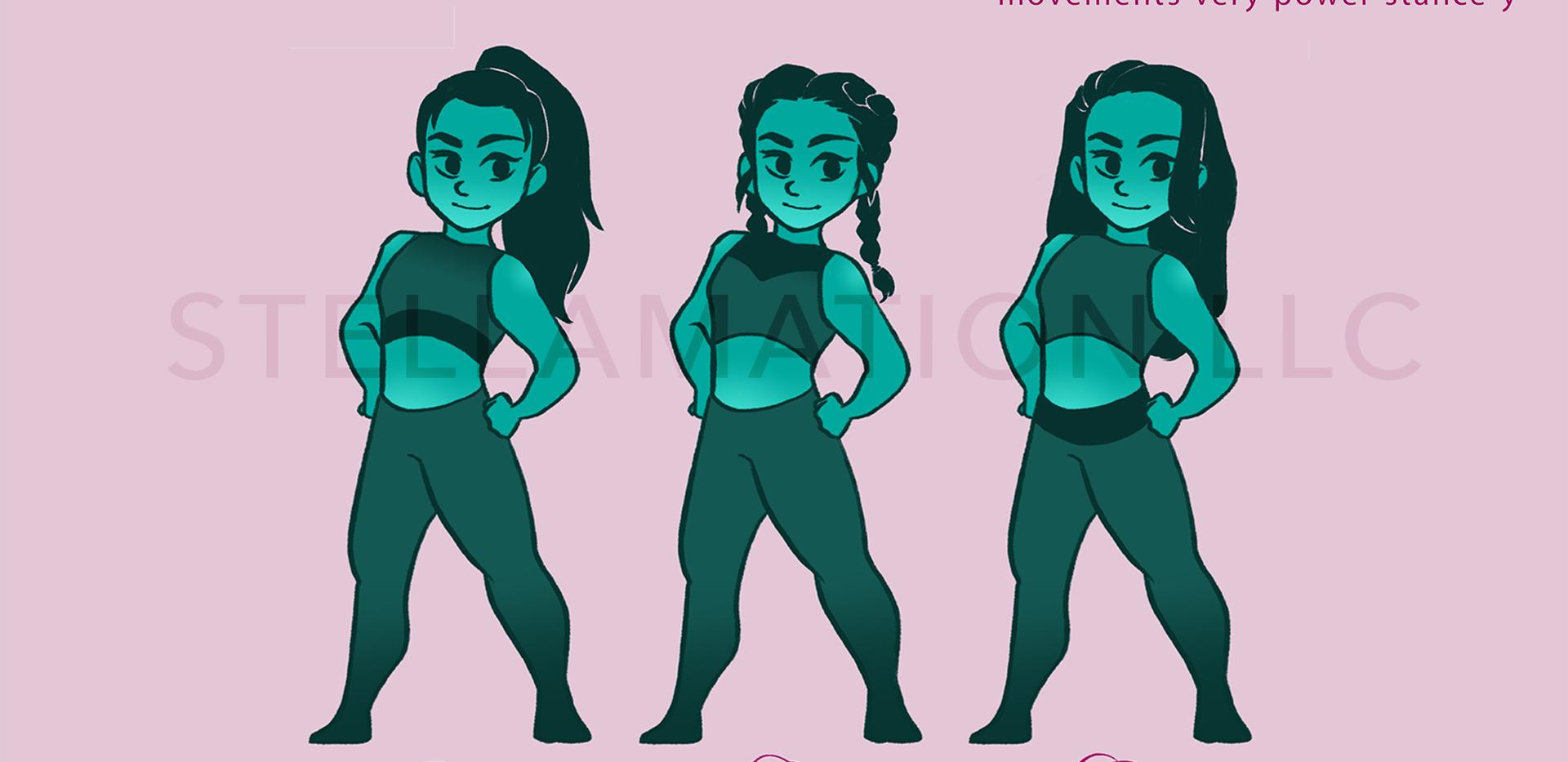 Skye Character Design