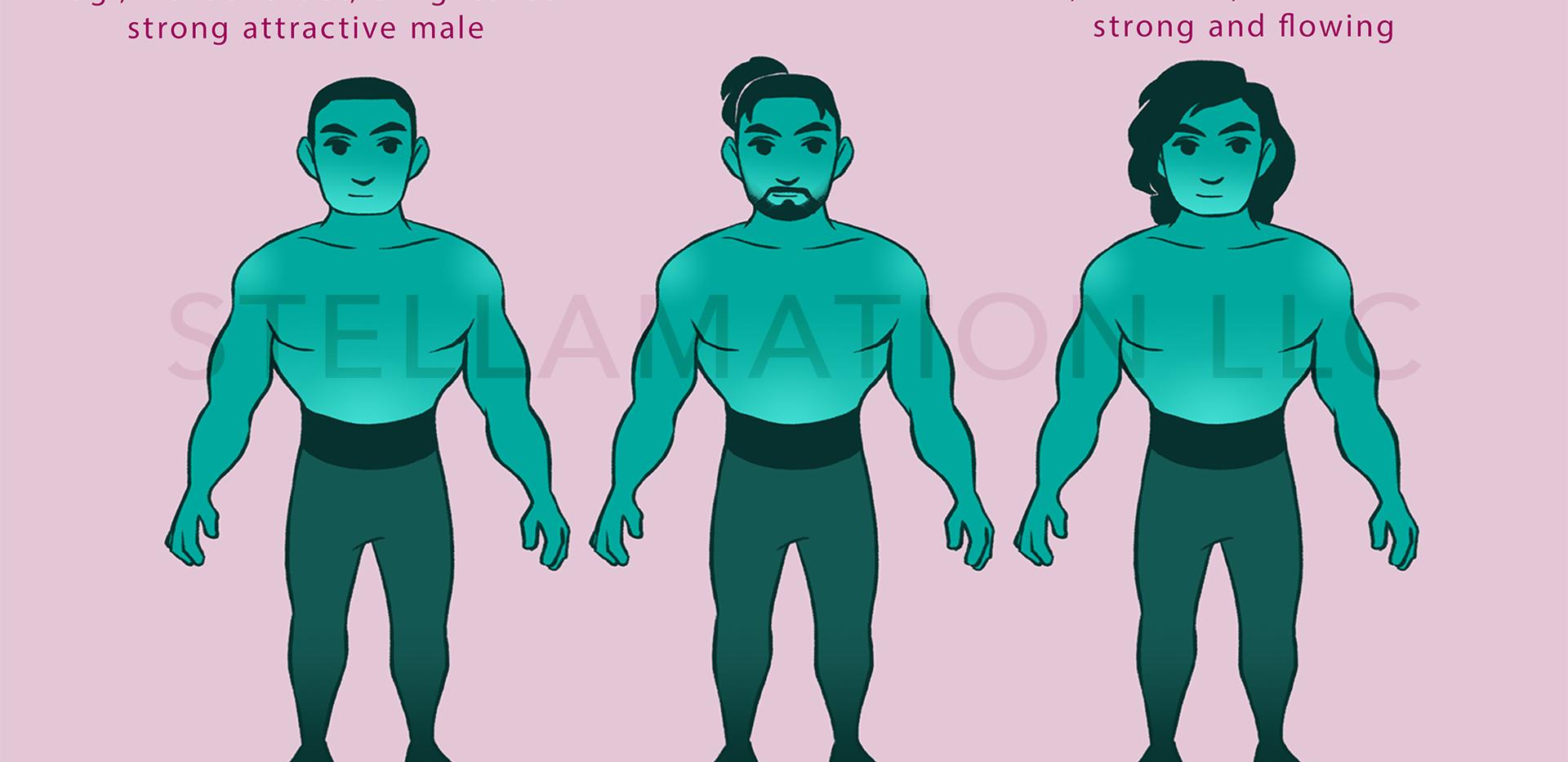 Galen Character Design