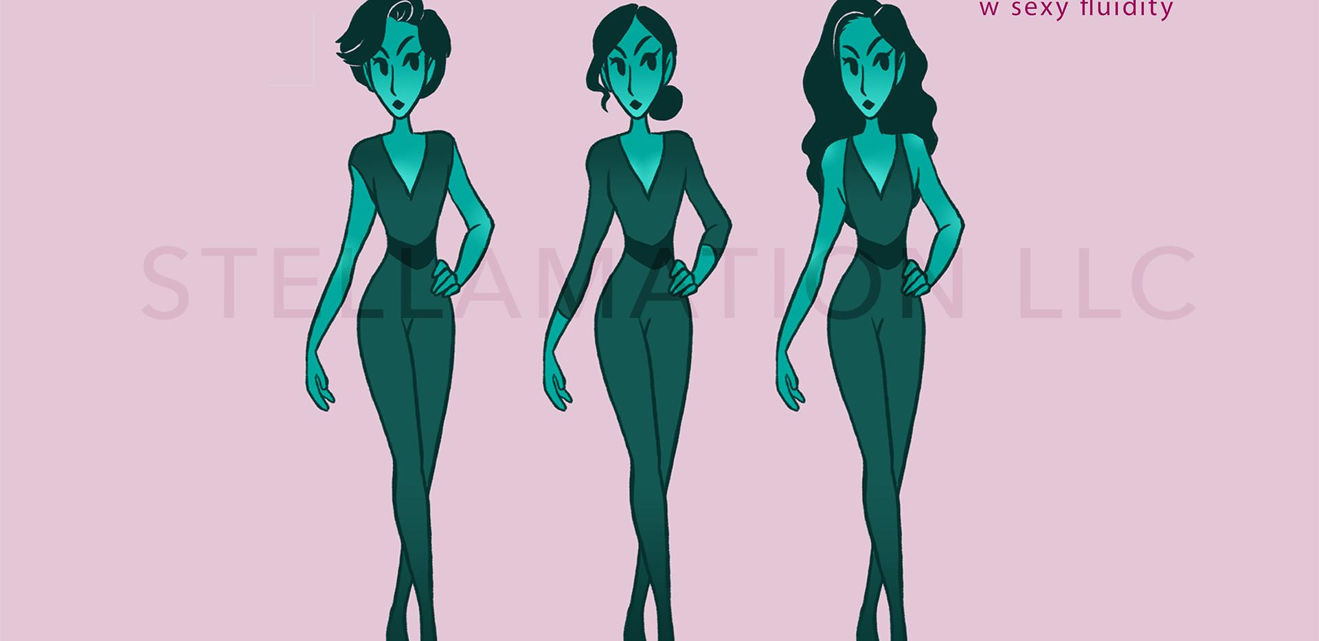 Valerie Character Design