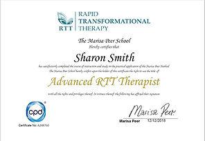 Advanced RTT Therapist Certificate.JPG