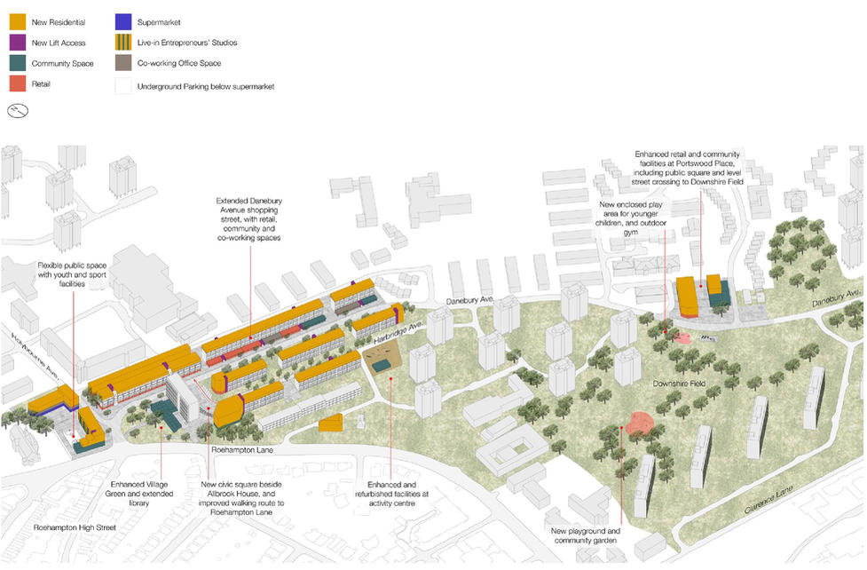 Sketch of the Community Plan