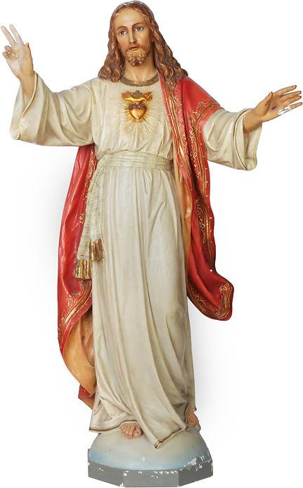 sacred-heart-statue-o-lady-of-mount-carm