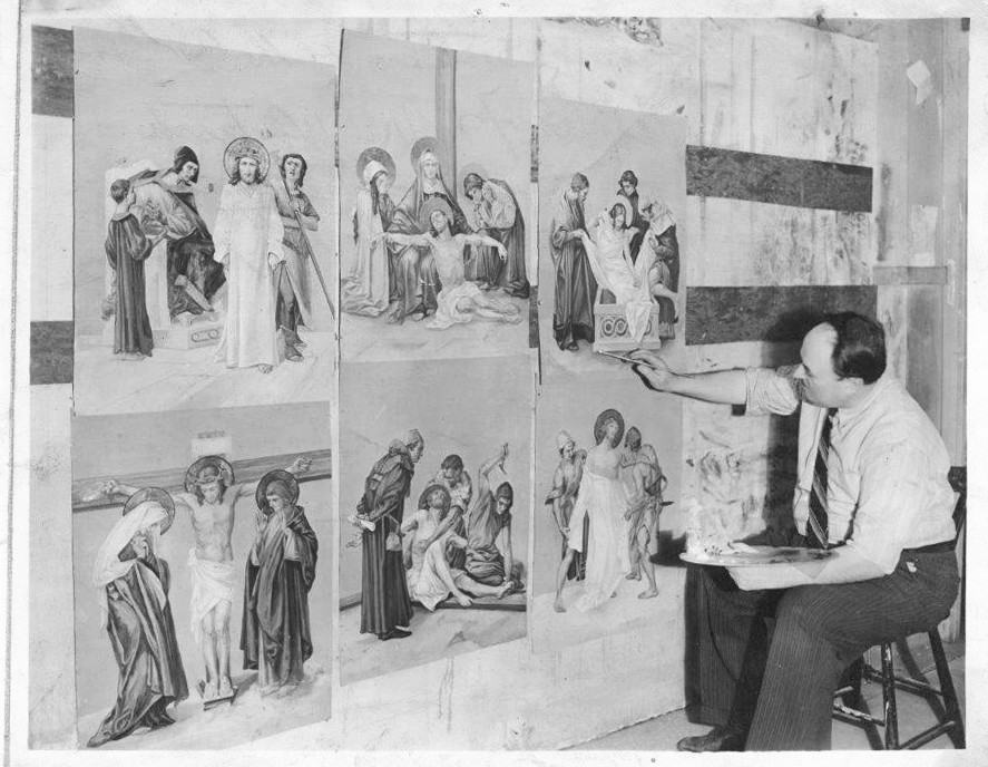 Stations of the cross 1942