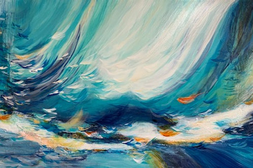 Feather Waves 30x60