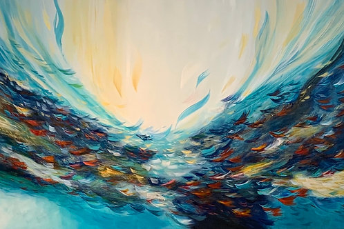 Rising From The Deep 40x60