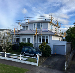 Two Story Edge Protection