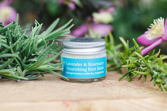 Mini Nourishing Foot Balm with Lavender & Rosemary