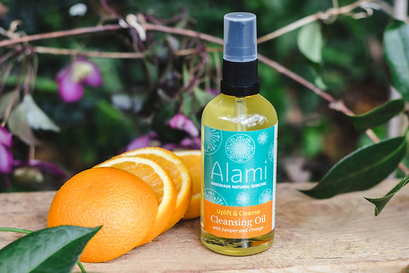 Uplift & Cleanse Cleansing Oil with Juniper & Orange