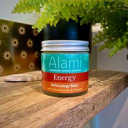 Energy Reflexology Balm with Frankincense & Orange
