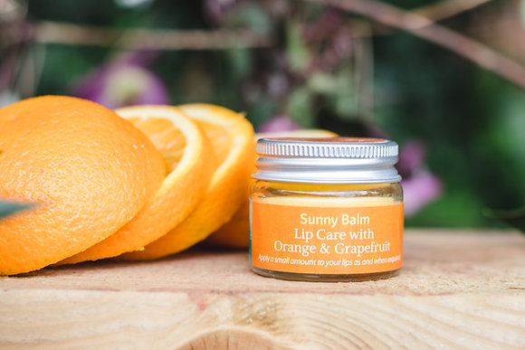 Sunny Balm Lip Care with Orange & Grapefruit