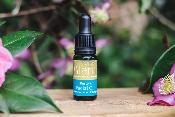 Mini Restore Facial Oil with Cedarwood & Juniper
