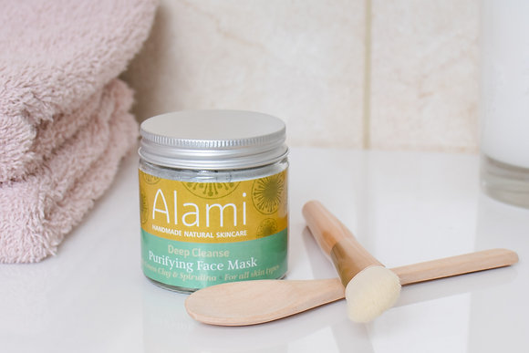 Deep Cleanse Purifying Face Mask with Green Clay & Spirulina