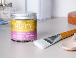Cleanse & Glow Brightening Face Mask with Rosehip & Hibiscus