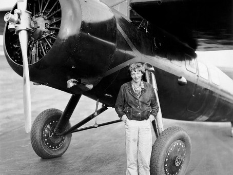 January 11th 1935: Amelia Earhart Becomes the First Person to Fly Solo From Hawaii to California