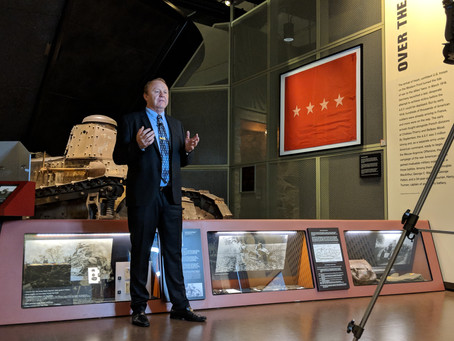 The Project Travels to the National WW1 Museum for Tracy Wildrix