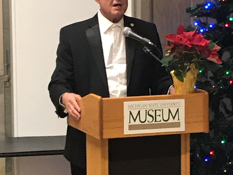 "Rep. Larry Inman Hosts Global Exhibit of ""Remember Amelia"" at MSU"