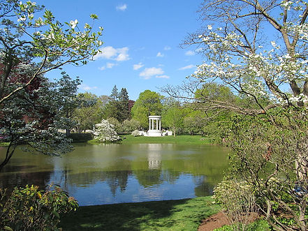 Halcyon_Lake,_Mount_Auburn_Cemetery,_Wat