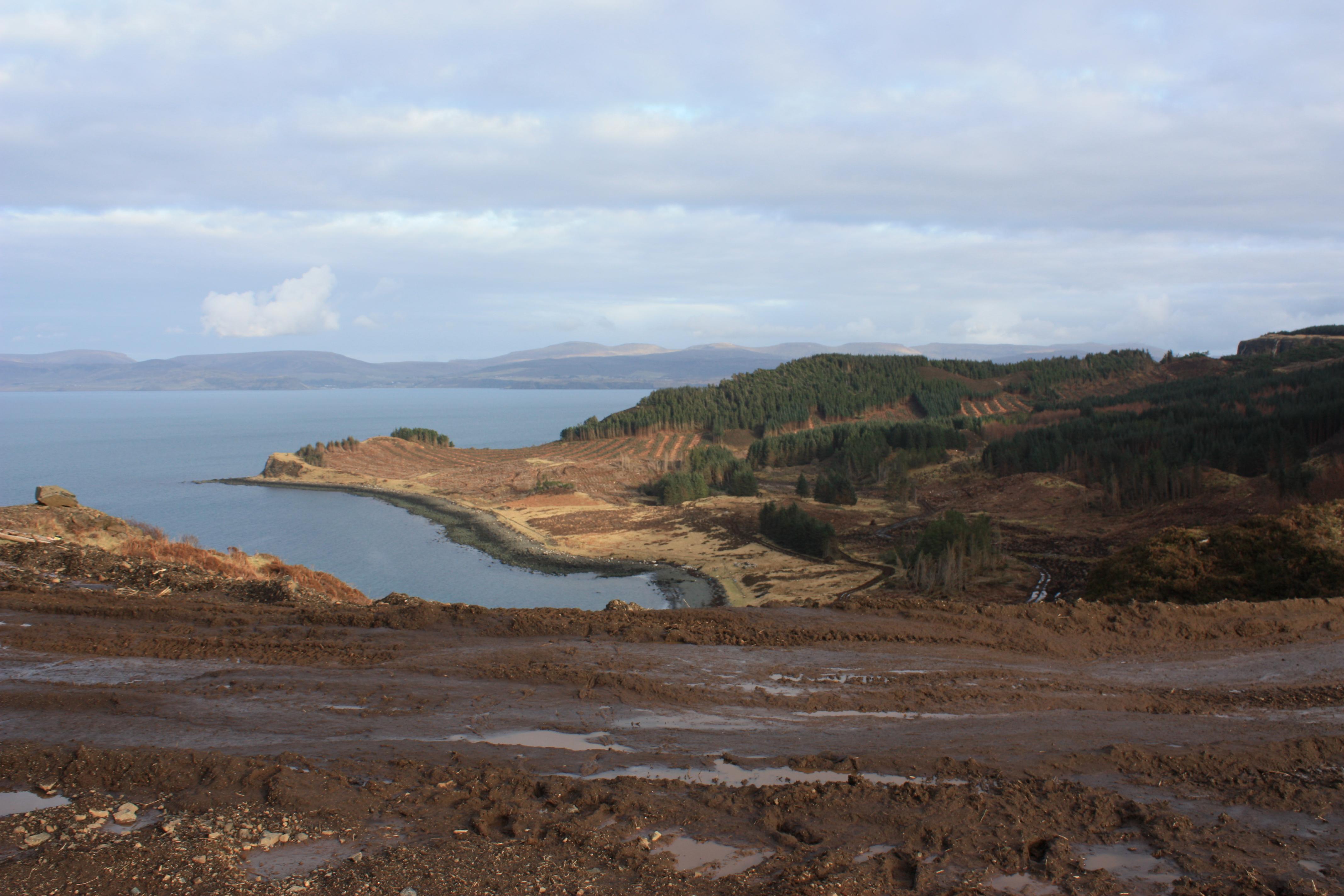 Scor Bay, Waternish