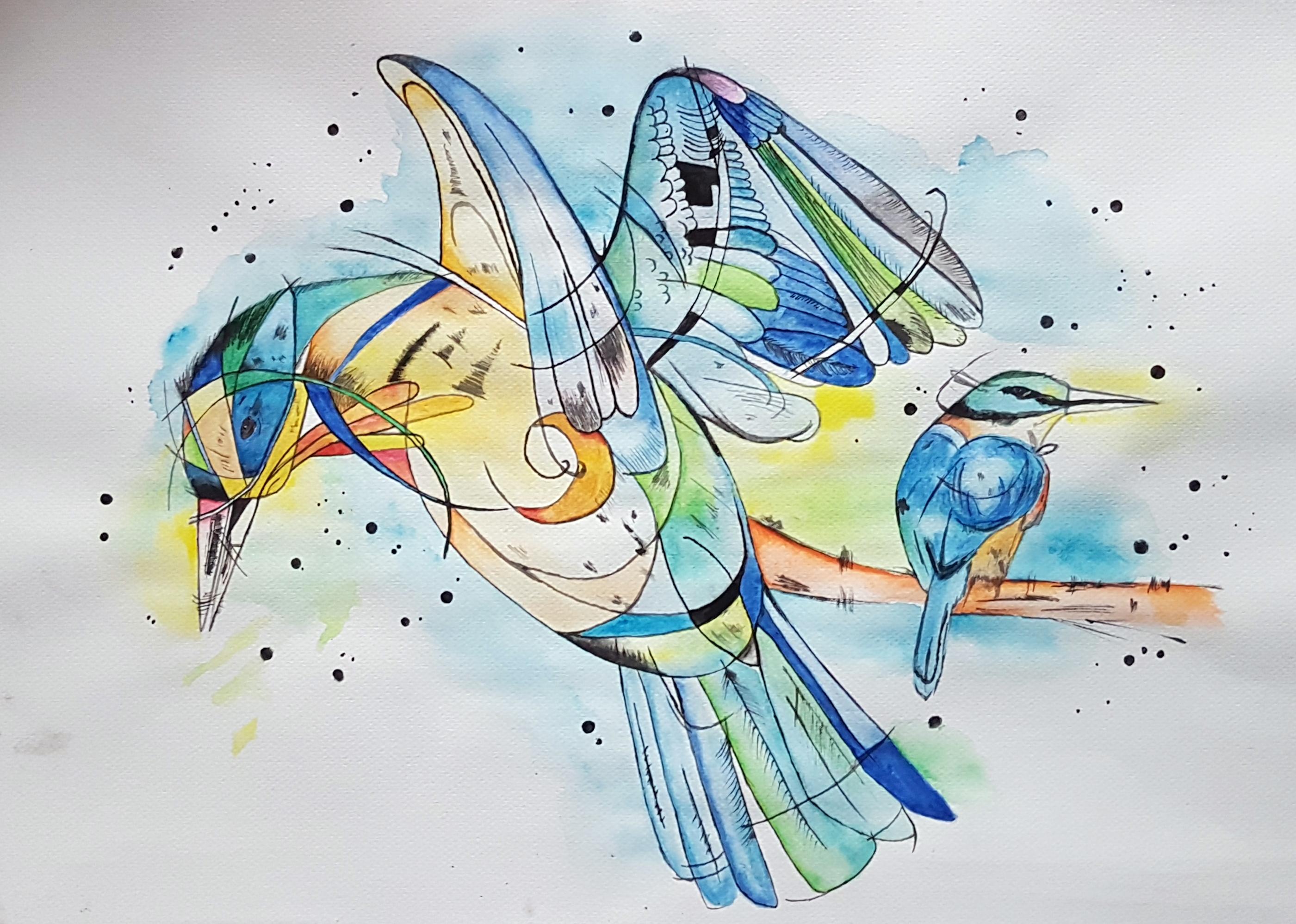 Eisvogel Impression