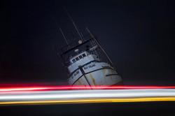Wrecked Ship Ventura Beach Ocean LOng Ex