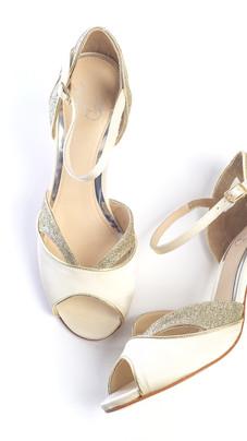 Marlene Cream Wedding Dance Shoe