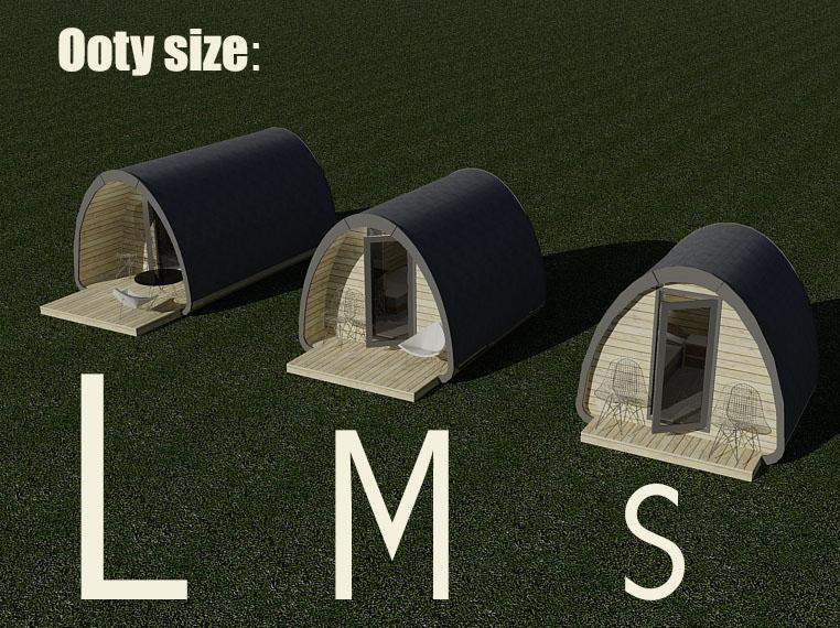 sizes Ooty