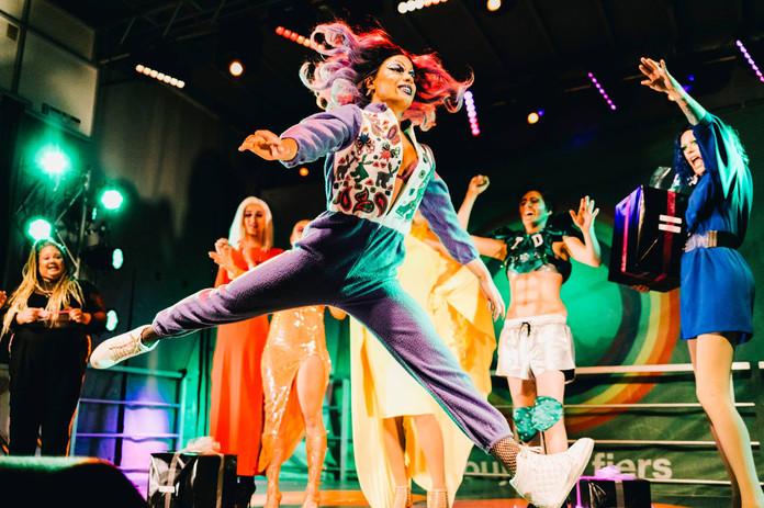 Performance sur scène