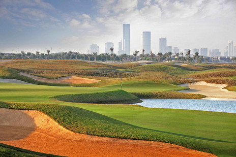 Abu Dhabi - die Superlative mit Golf am Golf