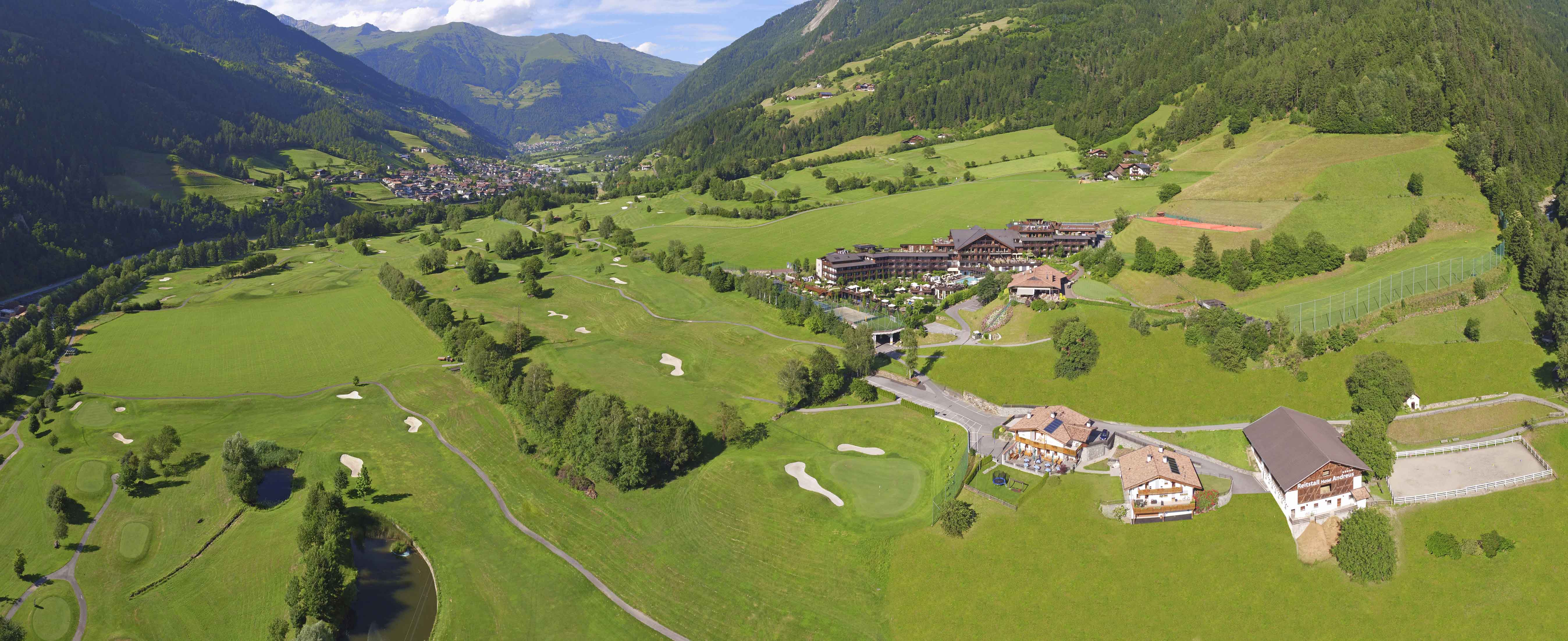 Hotel andreus 5 sterne luxus wellnesshotel golfhotel for Design wellnesshotel sudtirol