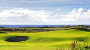 Links-Golf im Westen Schottlands