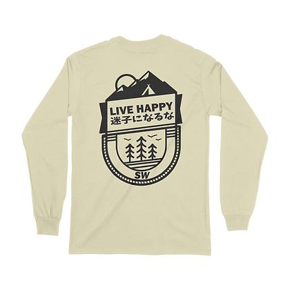 LIVE HAPPY (Full Sleeve)
