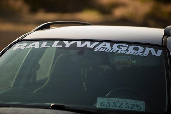 """RALLYWAGON Banner 42"""""""