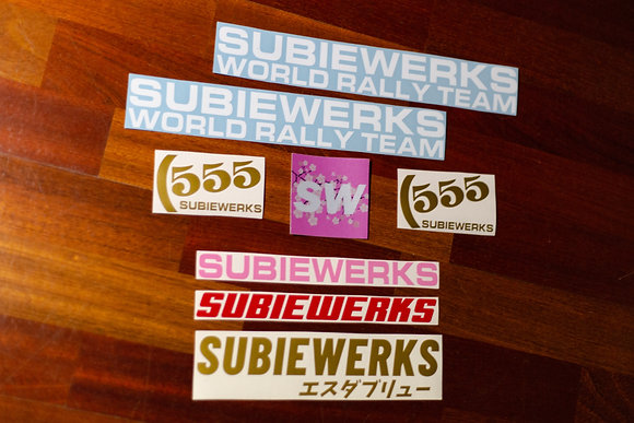 SubieWerks Sticker Pack