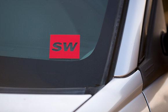 SW Reflective Badge