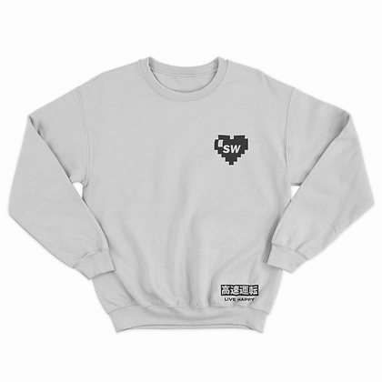 SubieWerks Pixel Heart (Sweatshirt)