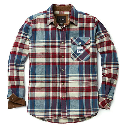 SW (Reflective) Corduroy Lined Flannel