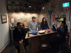 Rory, James, Eleanor, Caitlin