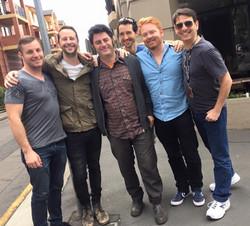 Rory, Sean, Serge, James, Guy