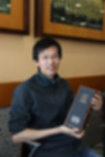 Fuliang Han with his 1979 Port Wine
